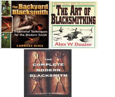 The Backyard Blacksmith Hardcover Bundle