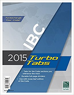 2015 International Building Code Turbo Tabs for Loose Leaf Edition