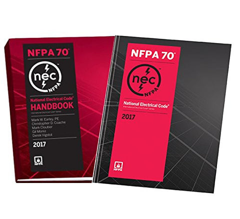 NFPA 70: National Electrical Code (NEC) Softbound and Handbook Set, 2017 Edition