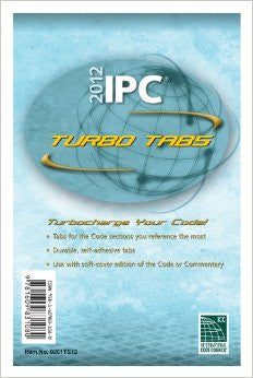 2012 International Plumbing Code Turbo Tabs for Paper Bound Edition (International Code Council Series)
