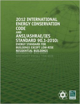 2012 International Energy Conservation Code with ASHRAE Standard (International Code Council Series)