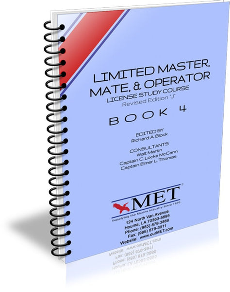 Limited Master, Mate & Operator Book 4