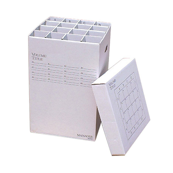 "16 Slot Rolled File Filing Box Size: 25"" H x 16"" W x 16"" D"