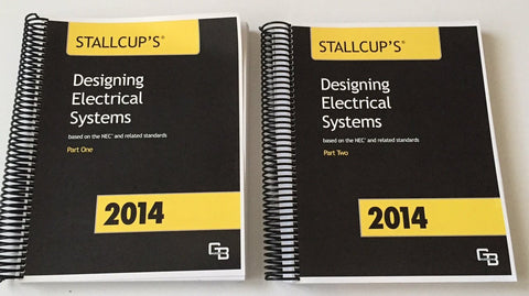 Stallcup's Designing Electrical Systems 2014 (2 Part Set)