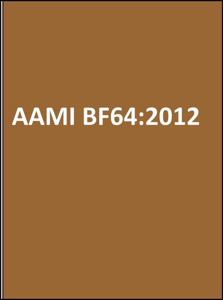 AAMI BF64:2012