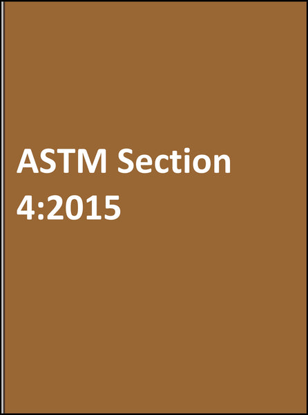 ASTM Section 4:2015