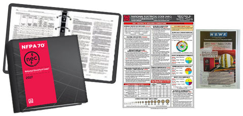 NFPA 70: National Electrical Code (NEC) Looseleaf, 2017 Edition with Tabs and NEC Quick Card