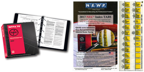 NFPA 70: National Electrical Code (NEC) Looseleaf, 2017 Edition with Tabs