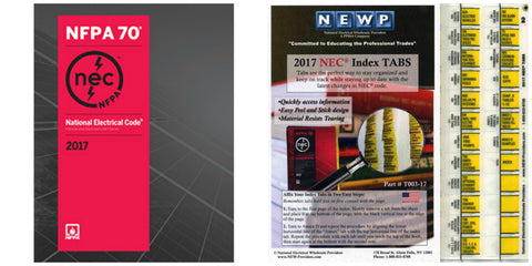 NFPA 70: National Electrical Code (NEC) Softbound, 2017 Edition with Tabs