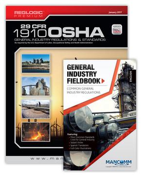 OSHA GENERAL INDUSTRY 29 CFR 1910 BOOK & FIELDBOOK COMBO