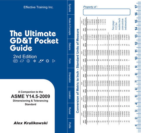 Ultimate GD&T Pocket Guide Based on ASME Y14.5-2009