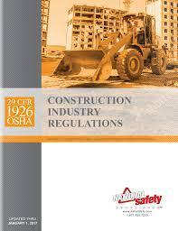 29 CFR 1926 OSHA Construction Industry Regulations (Paperback) - July 1 2017