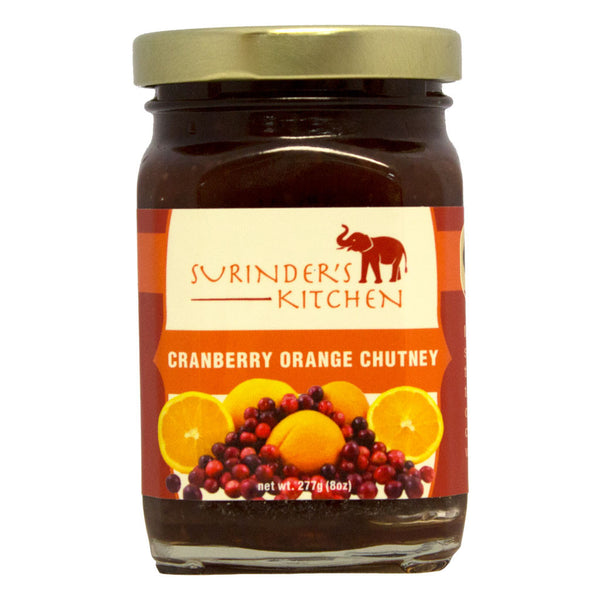 Surinder's Kitchen Cranberry Orange Chutney