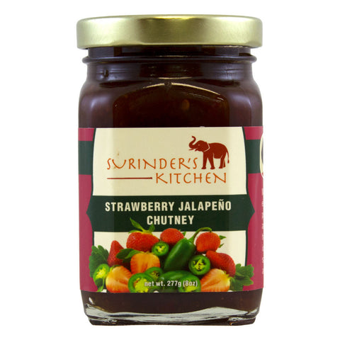 Surinder's Kitchen Strawberry Jalapeño Chutney