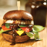 Hamburger with Tamarind Date Chutney