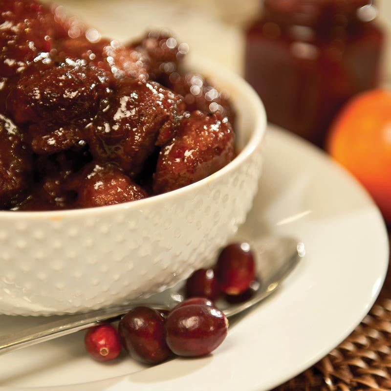 Cranberry Orange Meatball Recipe