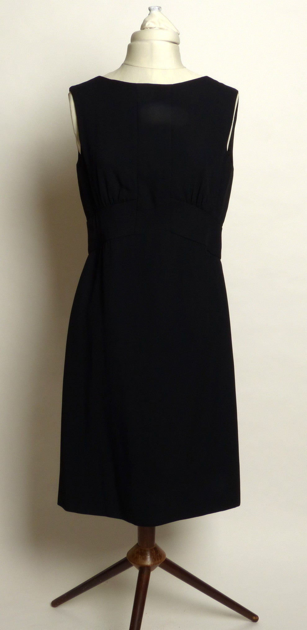 Circa Late 1950s/Early 1960s Simpson's Open Back Cocktail Dress