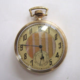 Elgin 1000 Gold-Filled Pocket Watch with Illinois Case