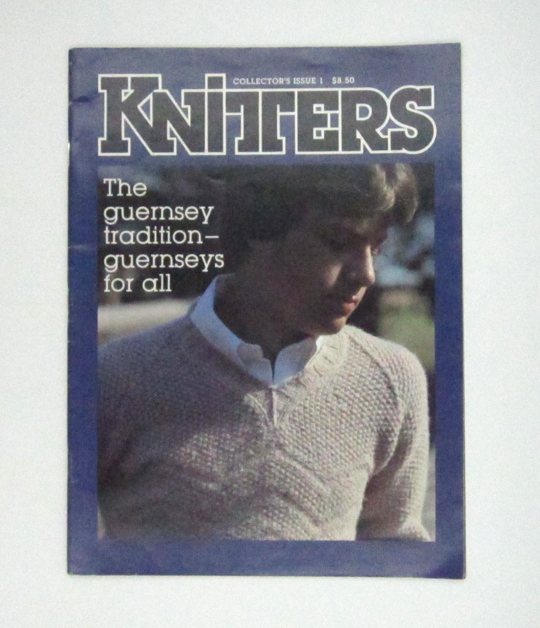Vintage Knitters Collector's Issue 1 Knitting Magazine