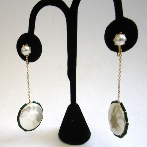 Laguna Faux Mabe Faux-Pearl Drop Earrings