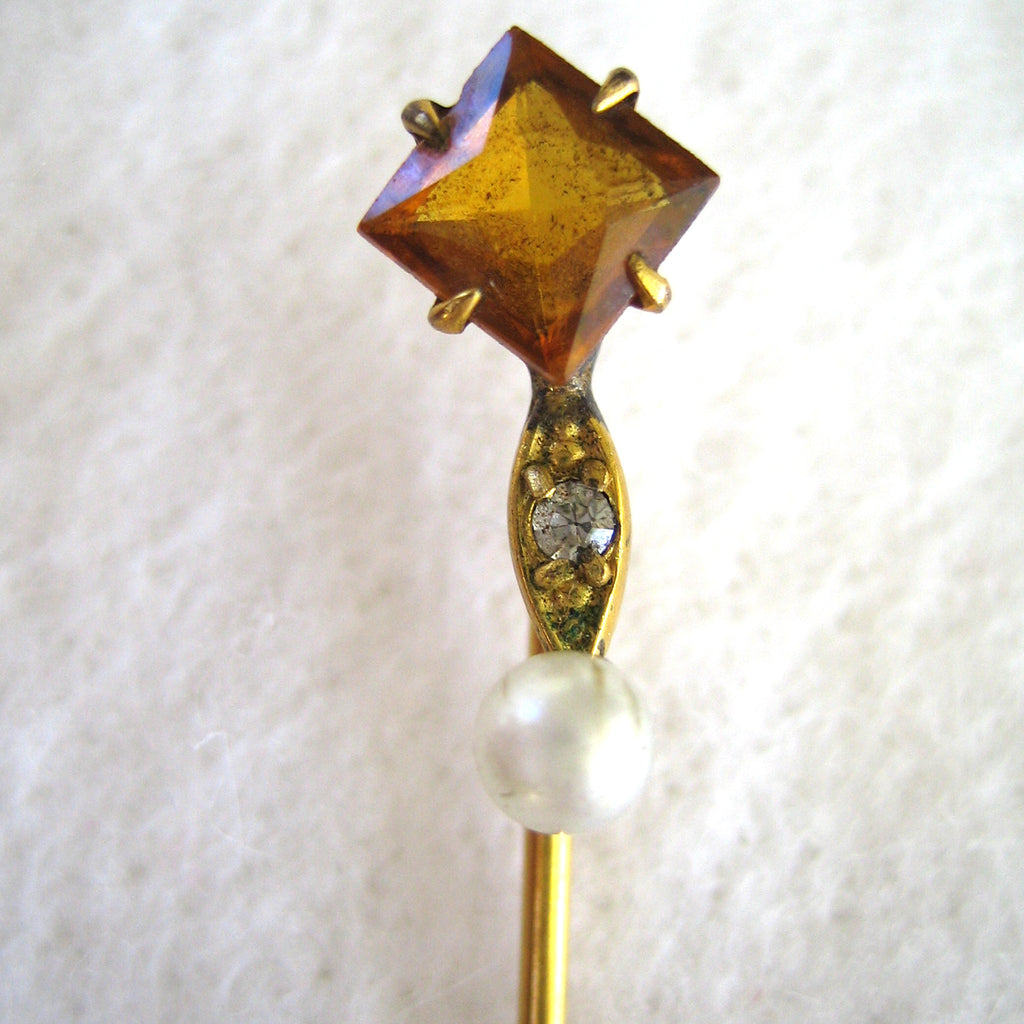 S&W Gold-tone Stickpin