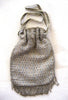 Steel Bead Reticule Drawstring Purse/Bag