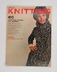 Vintage Vogue Knitting Magazine - Fall and Winter 1964