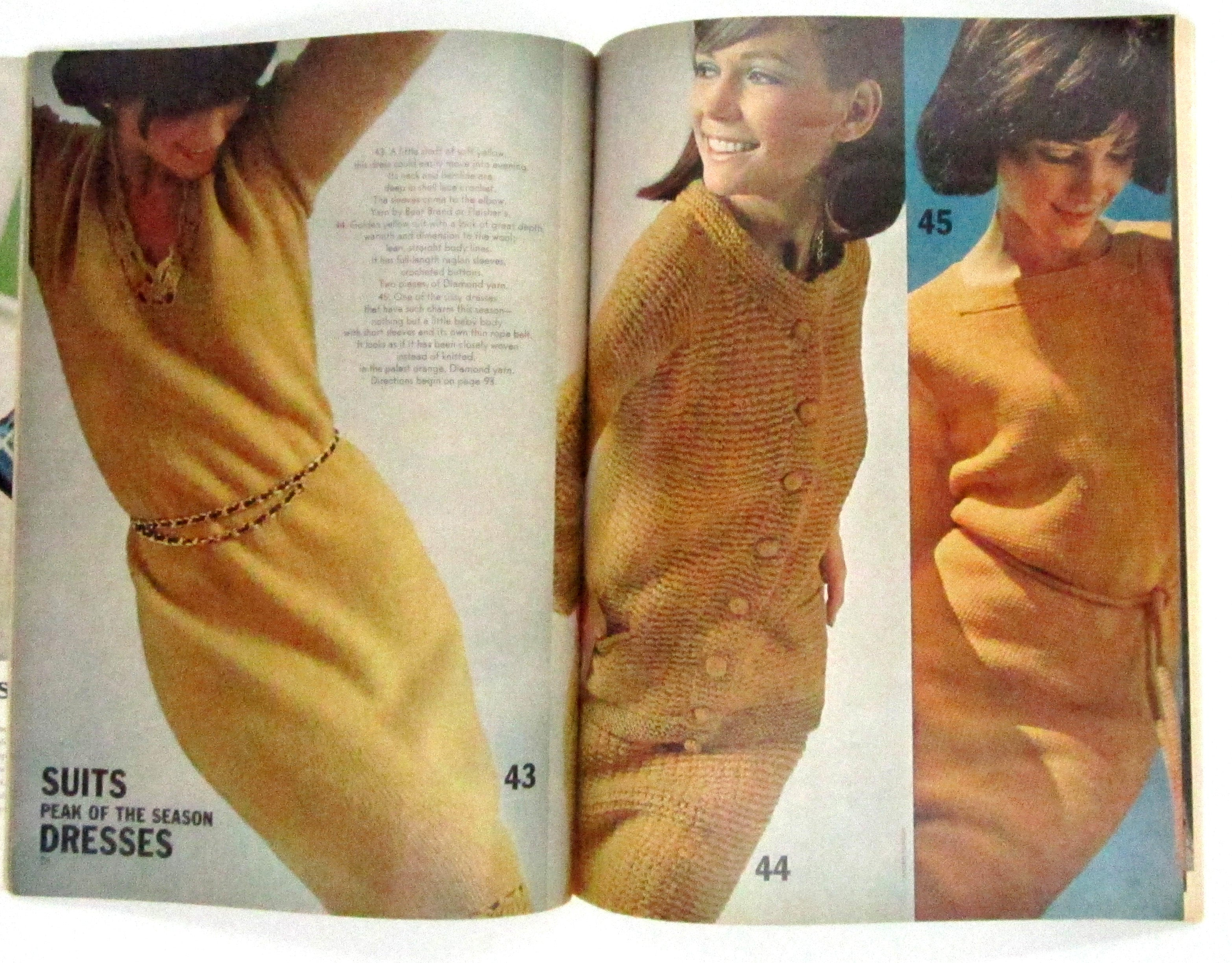 Vintage Vogue Knitting Magazine - Fall and Winter 1965 | D & L Vintage