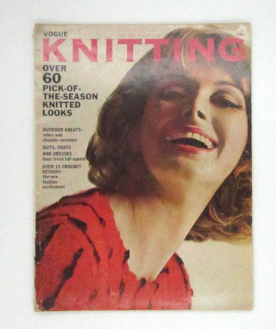 Vintage Vogue Knitting Magazine - Fall and Winter 1965