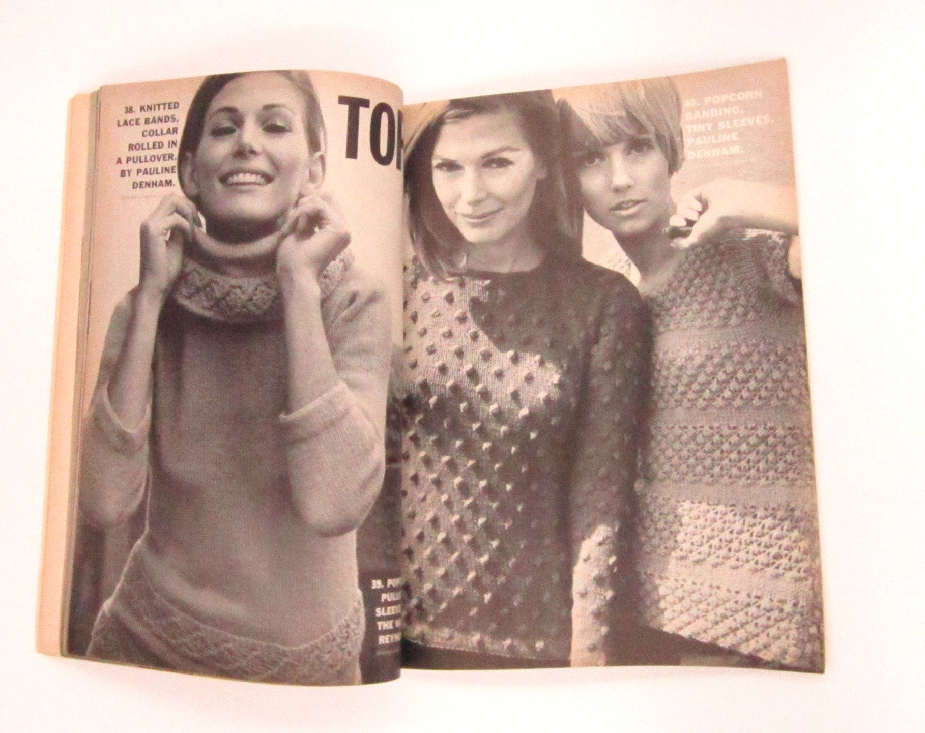 Vintage Vogue Knitting Magazine - Fall and Winter 1966 | D & L Vintage