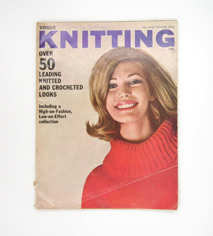 Vintage Vogue Knitting Magazine - Fall and Winter 1966