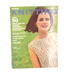Vintage Vogue Knitting Magazine - Spring/Summer 1965