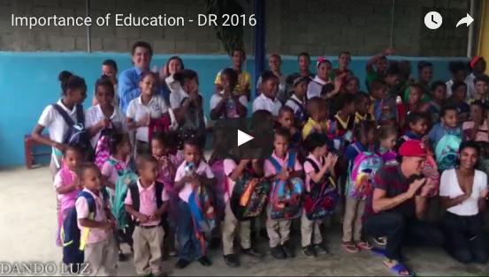 Importance of Education - DR 2016
