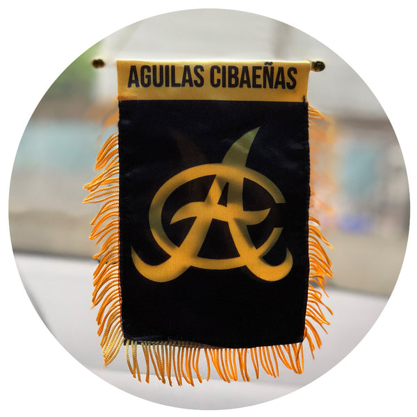 Aguilas Car Flag