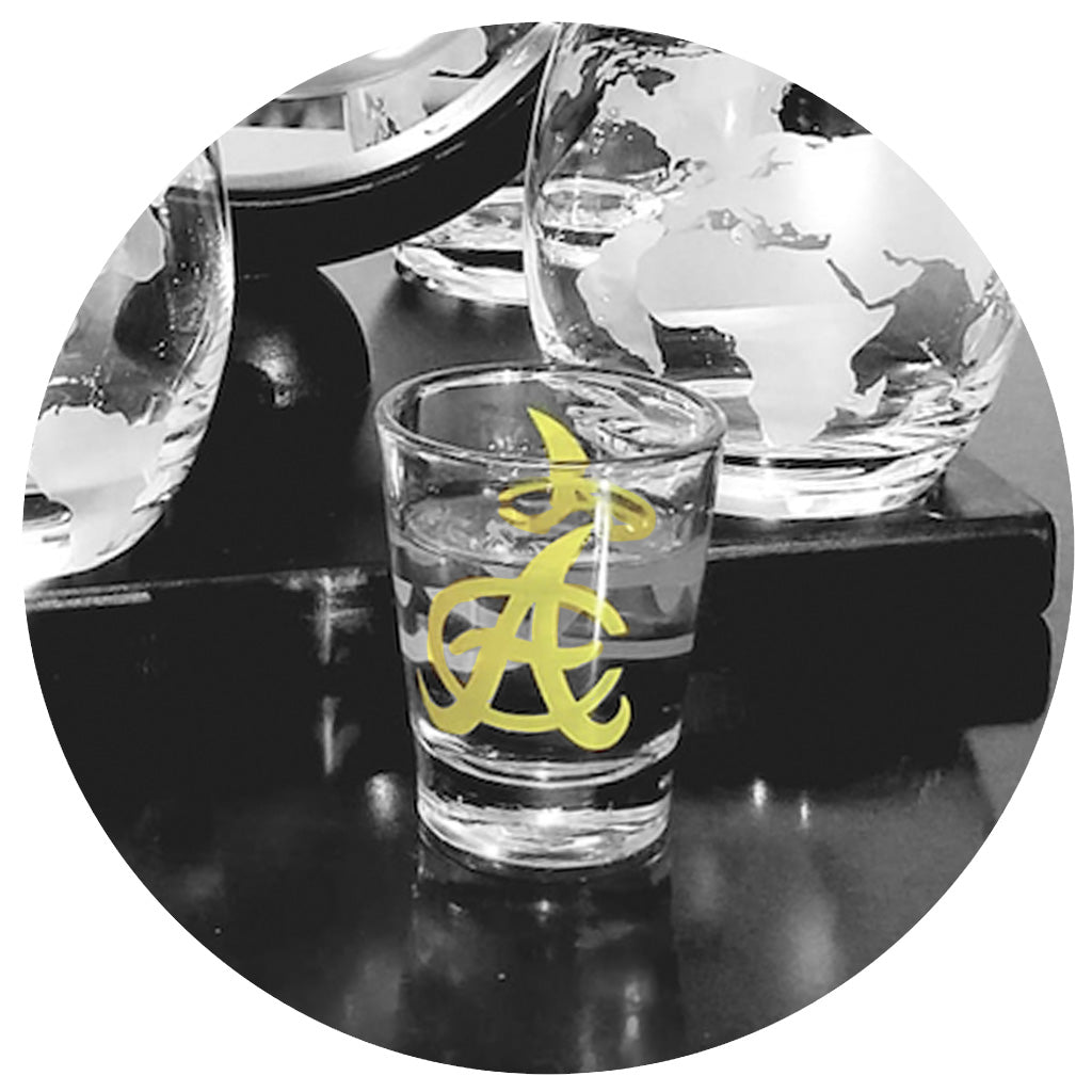 Aguilas Shot Glass