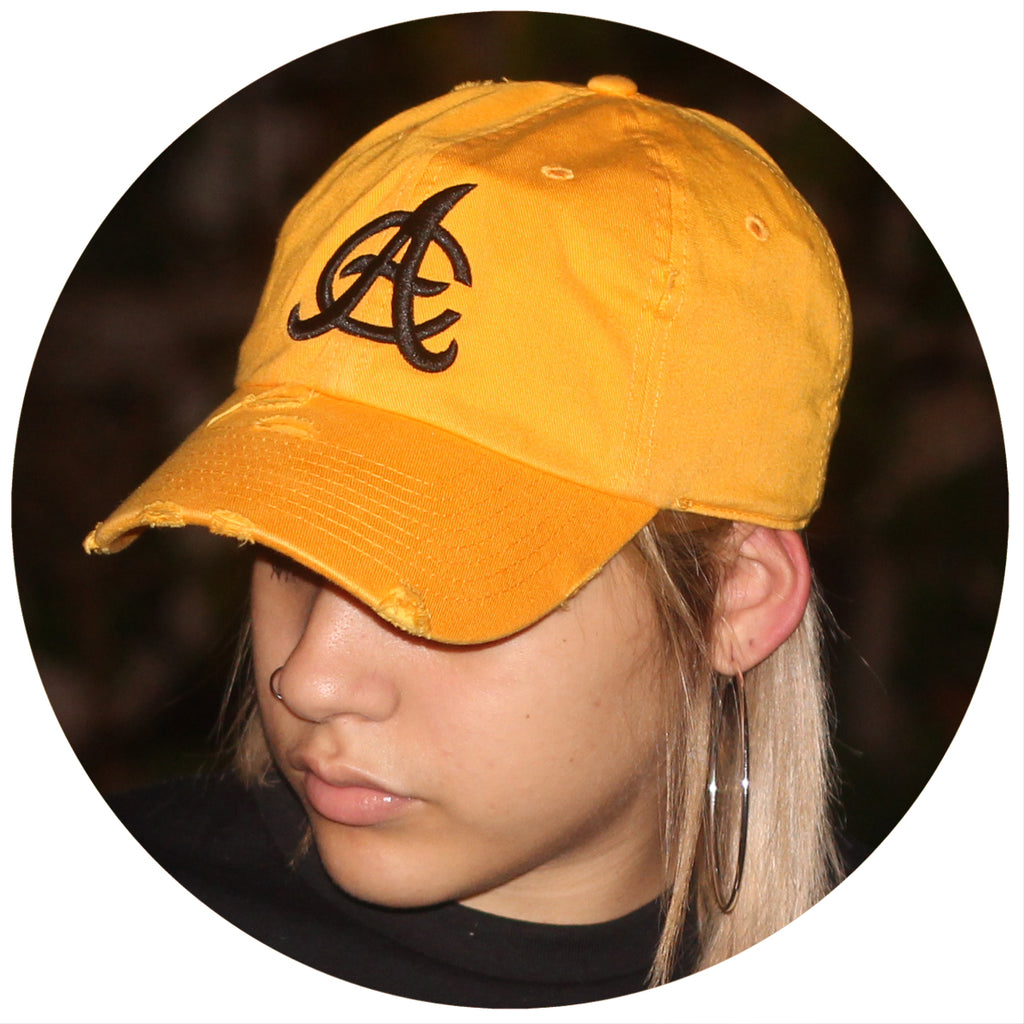 "Aguilas ""AC"" Ripped Dad Hat"