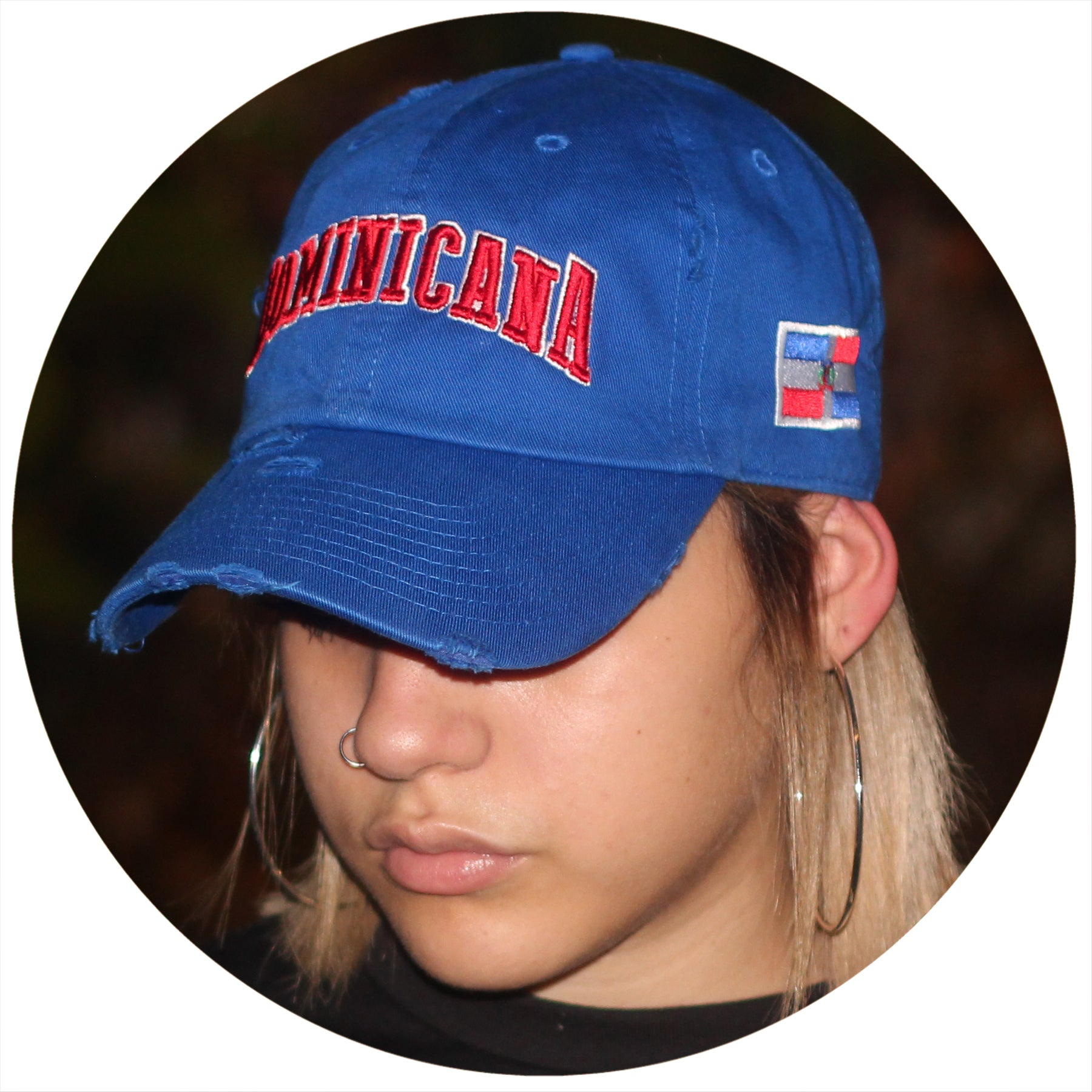 Dominicana Ripped Dad Hat (World Baseball Classic)