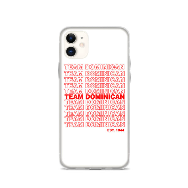 TEAM DOMINICAN iPhone Case