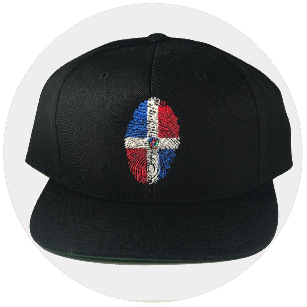 Dominican fingerprint Snapback