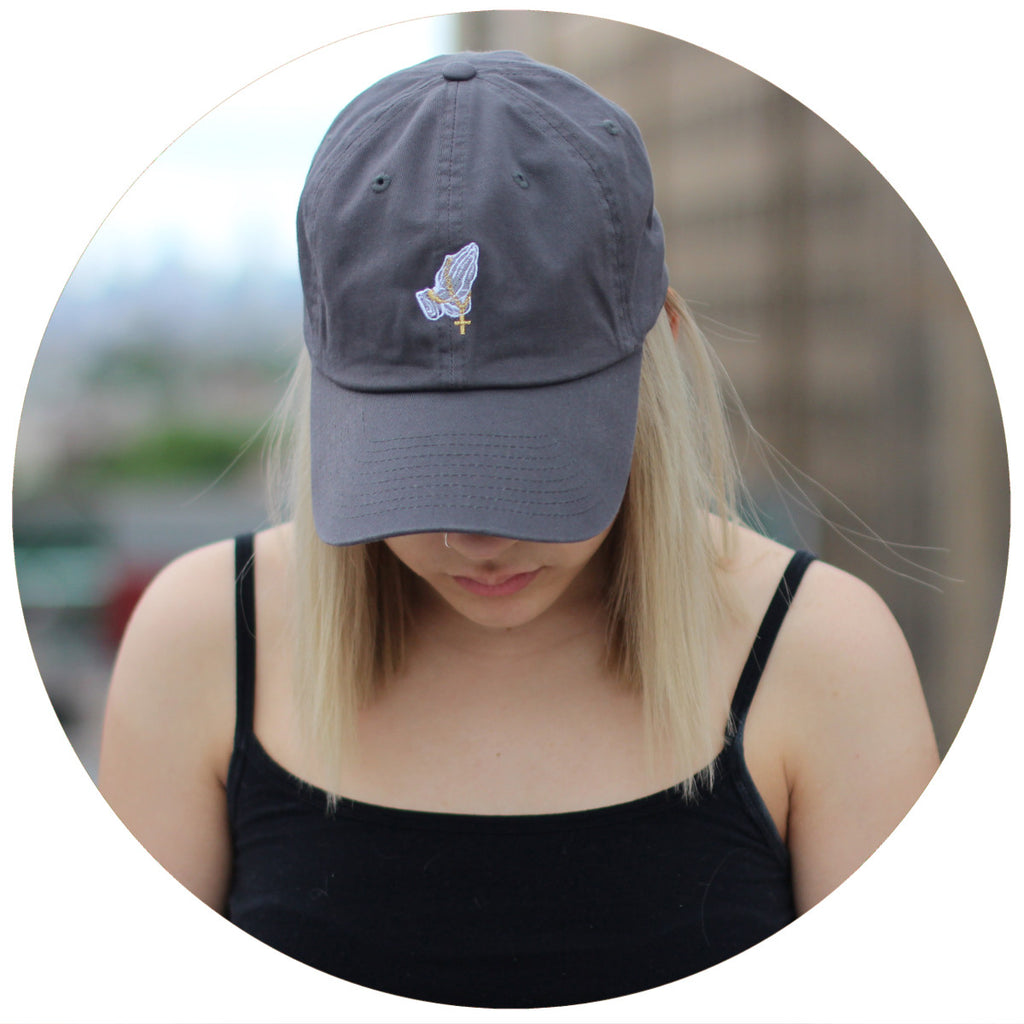 Praying Hands Dad Hat