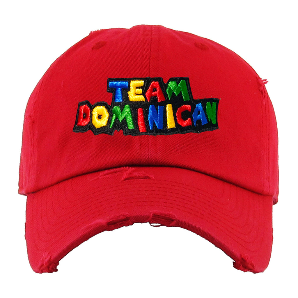 Team Dominican Dad Hat