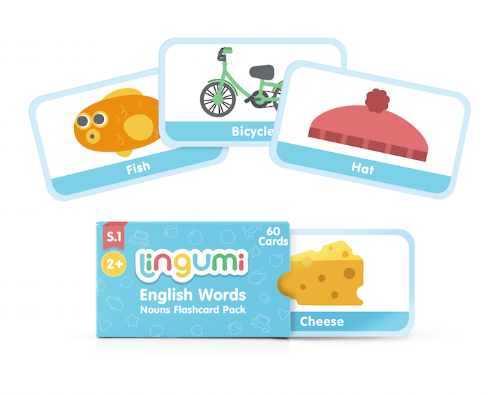 Club Lingumi Jumbo Word Cards
