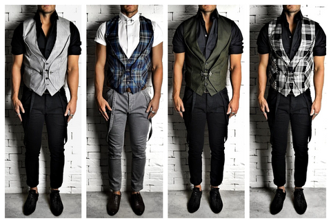 Suit Chain Waistcoats | Mens Party Wear | Alex Christopher Clothing