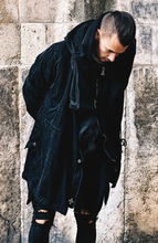 Black Oversized Trench Coat | Mens Unique Jackets | Alex Christopher