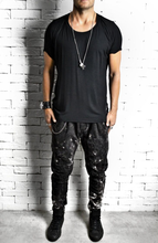 Bleached Twisted Jeans | Drop Crotch Jeans | Alex Christopher