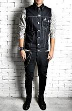Geo Denim Jacket | Mens Denim Jackets | Alex Christopher