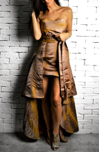 Milano Dress - Copper/Rust