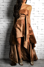 Mocha/Caramel Milano Dress | Occasion Dresses | Alex Christopher