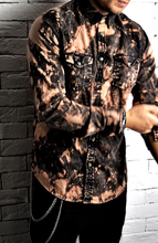 Tie Dye Western Shirt | Casual Shirts | Alex Christopher