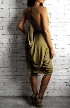 Gold Athena Dress | Unique Dresses | Alex Christopher Clothing